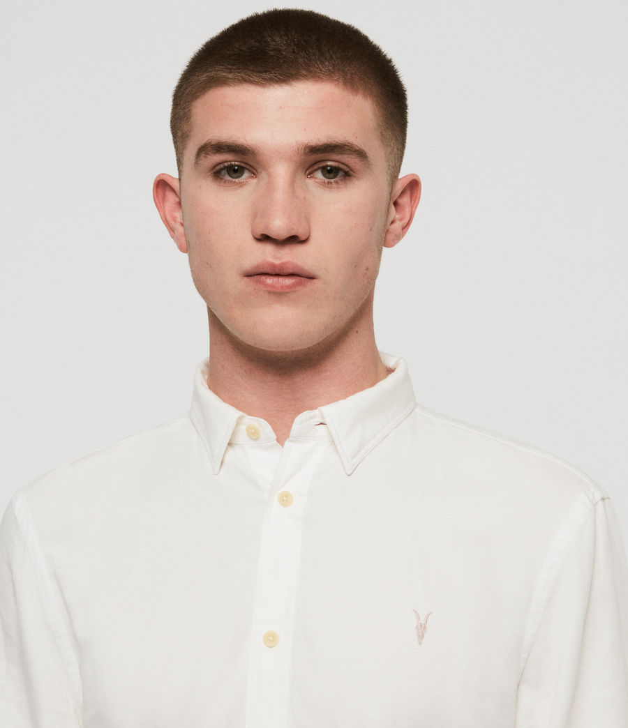 Men's Eastlake Shirt (optic_white) - Image 2