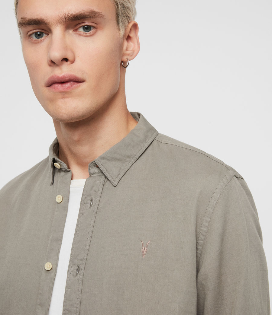Men's Eastlake Shirt (sheal_green) - Image 2