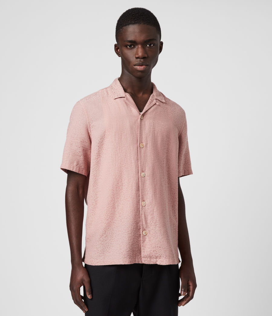 Men's Panthera Shirt (sunset_pink) - Image 1