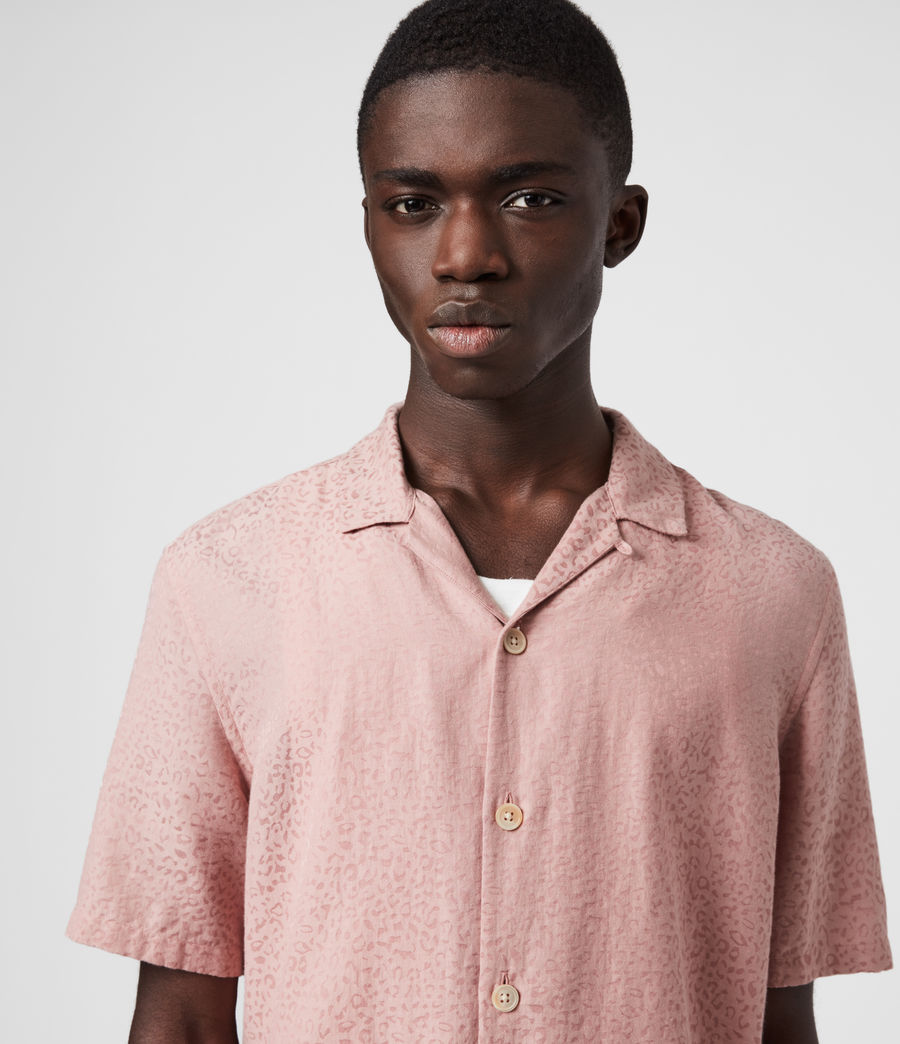 Men's Panthera Shirt (sunset_pink) - Image 2