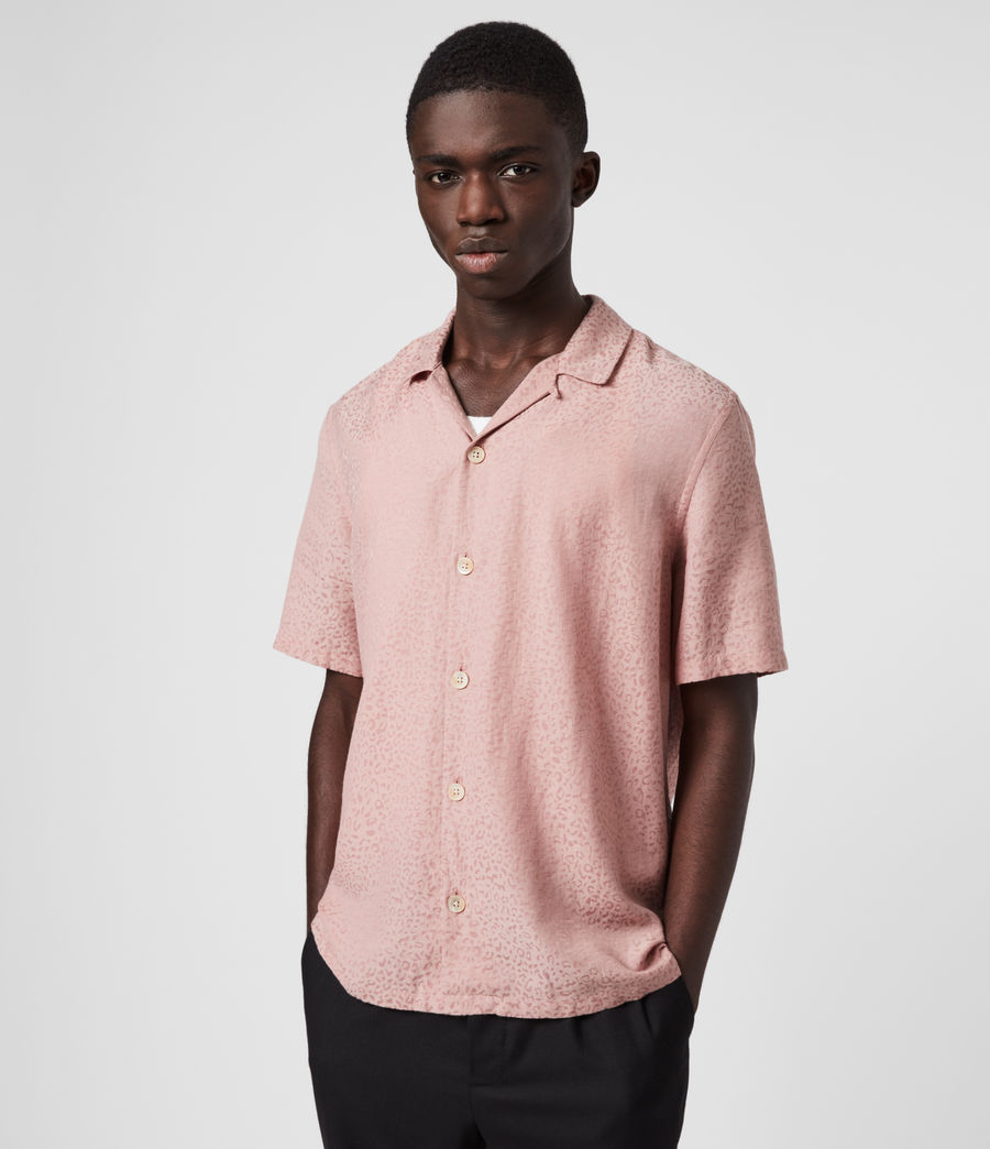 Men's Panthera Shirt (sunset_pink) - Image 4