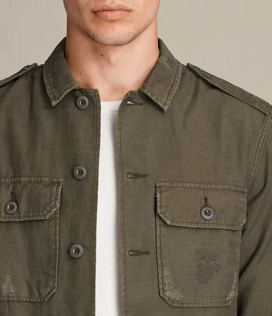 Mens Sapper Shirt (khaki_green) - Image 2