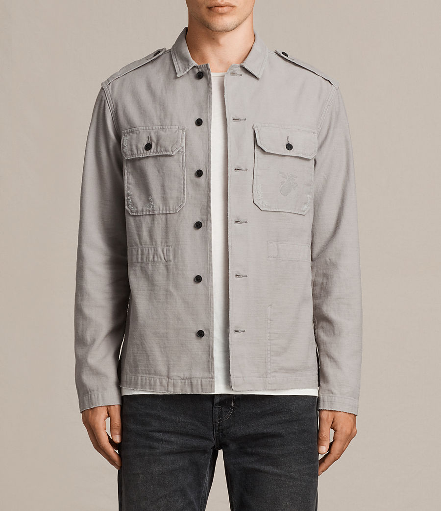 Hombre Camisa Sapper (putty_grey) - Image 1