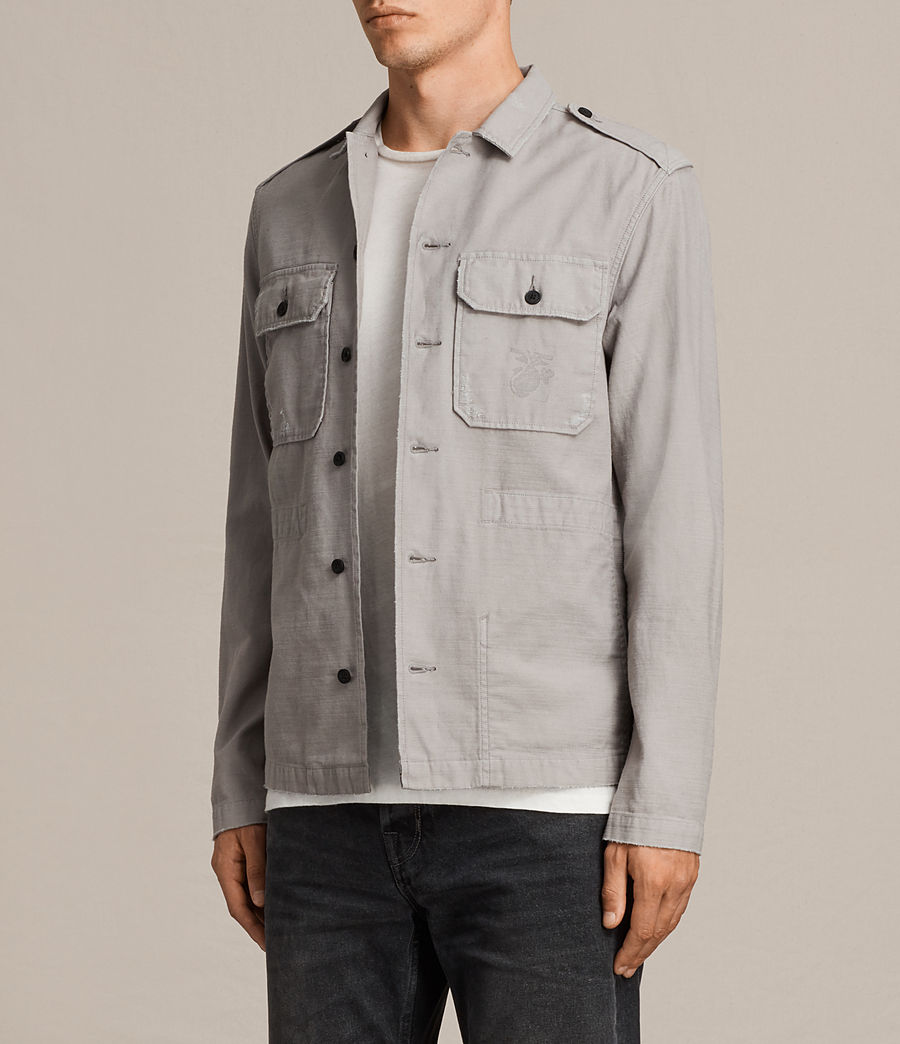Hombre Camisa Sapper (putty_grey) - Image 3