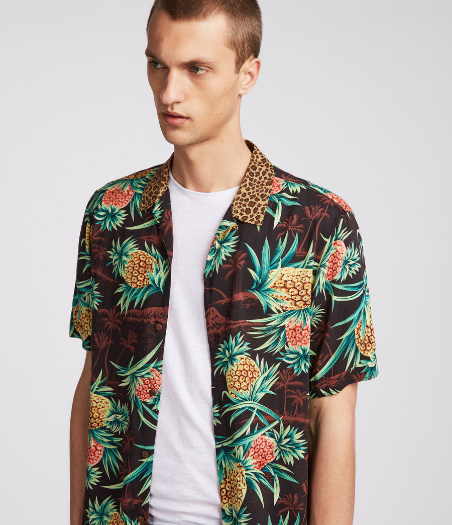 Herren Devoir Hawaiihemd (brown) - Image 1