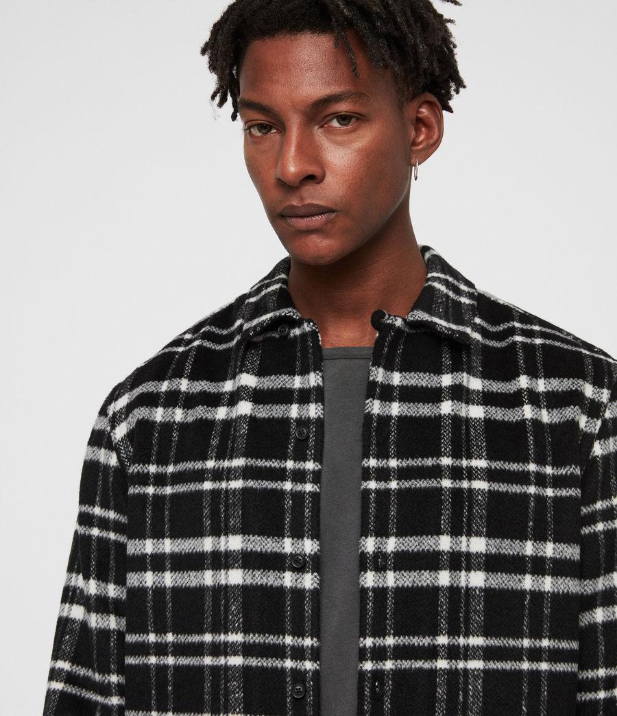 Mens Racine Shirt (black_ecru) - Image 2