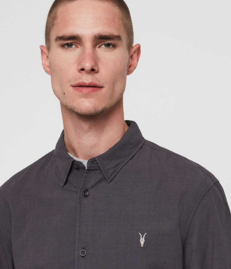 Mens Wayland Shirt (slate_grey) - Image 3