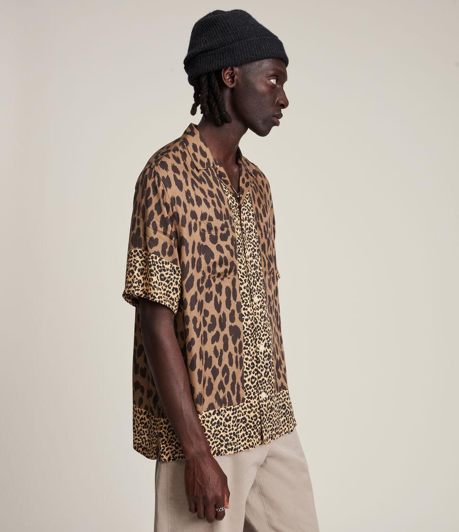 Herren Lepzard Shirt (mocha_brown) - Image 3