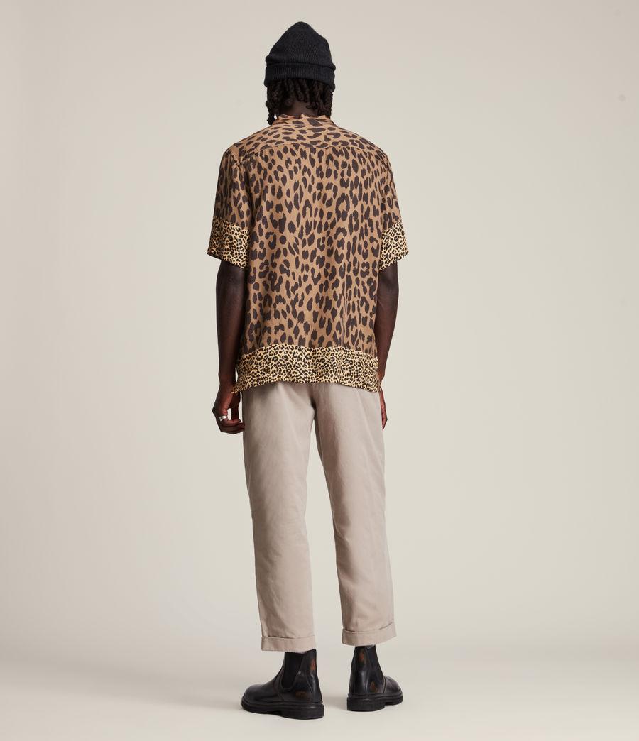 Herren Lepzard Shirt (mocha_brown) - Image 5