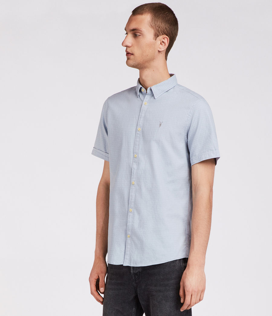 Herren Sanborn Hemd (blue) - Image 3