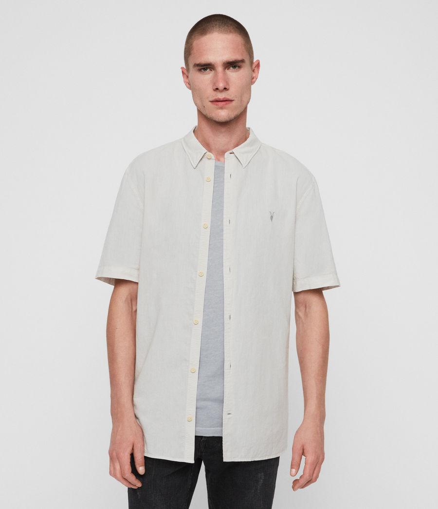 Mens Wayland Shirt (beige) - Image 1