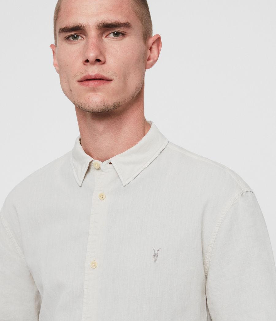 Mens Wayland Shirt (beige) - Image 3