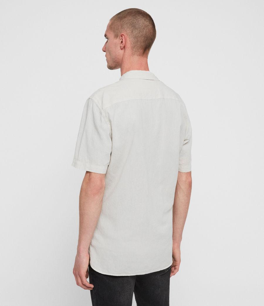 Mens Wayland Shirt (beige) - Image 4