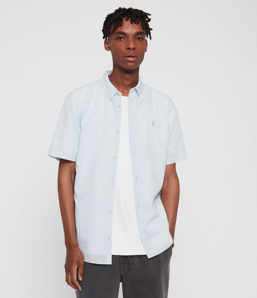 Mens Wayland Shirt (sol_blue) - Image 1