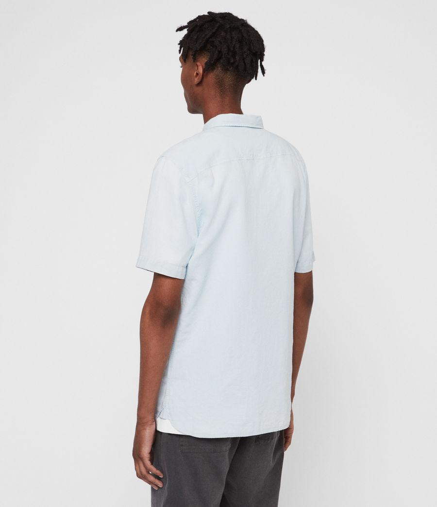 Mens Wayland Shirt (sol_blue) - Image 4