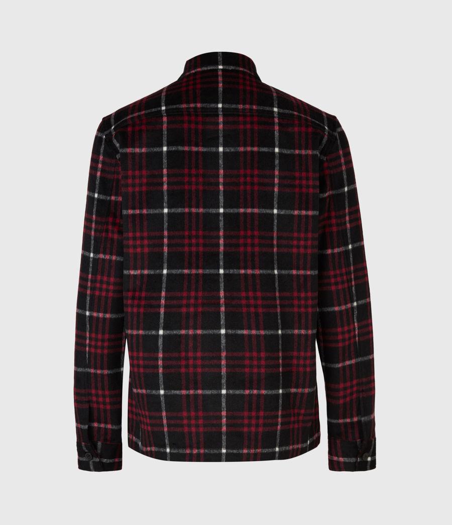 Men's Berthold Shirt (jet_black_red) - Image 3