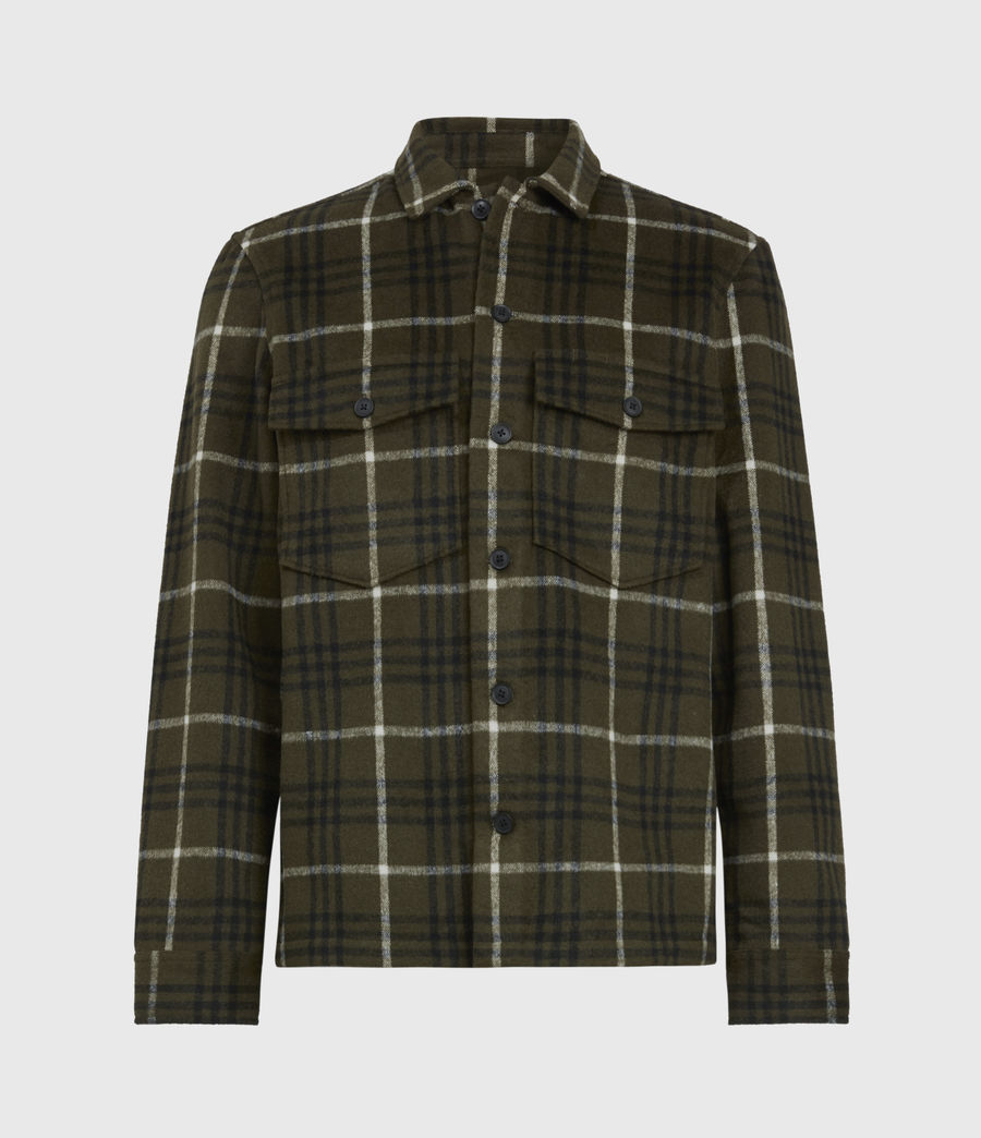 Men's Berthold Shirt (birch_green_jt_blk) - Image 2