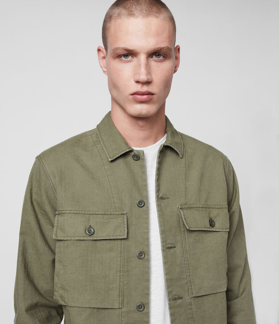 Men's Recon Shirt (olive_green) - Image 1