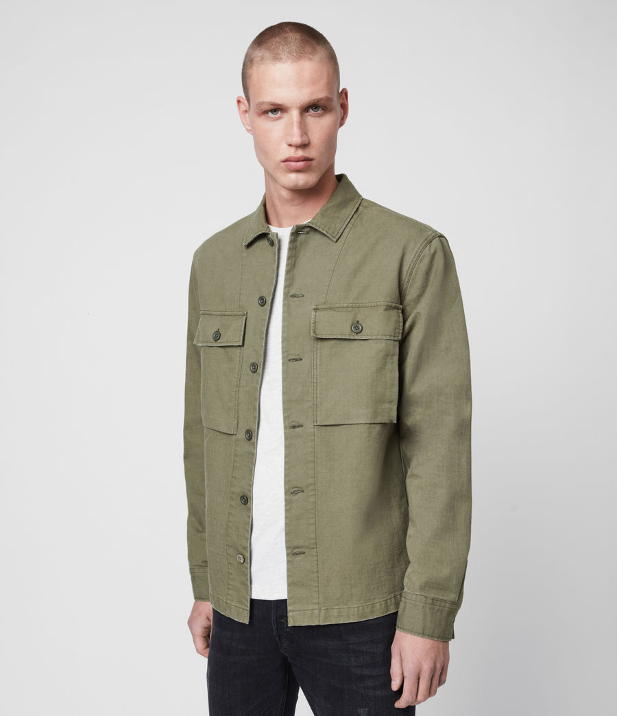 Mens Recon Shirt (olive_green) - Image 3