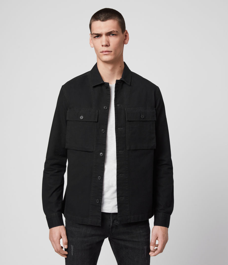 Herren Recon Shirt (jet_black) - Image 1