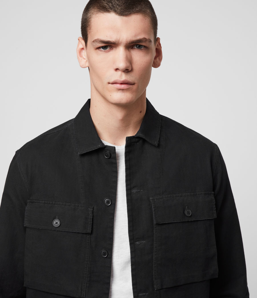 Herren Recon Shirt (jet_black) - Image 2
