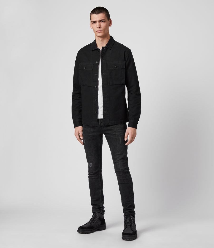 Herren Recon Shirt (jet_black) - Image 3
