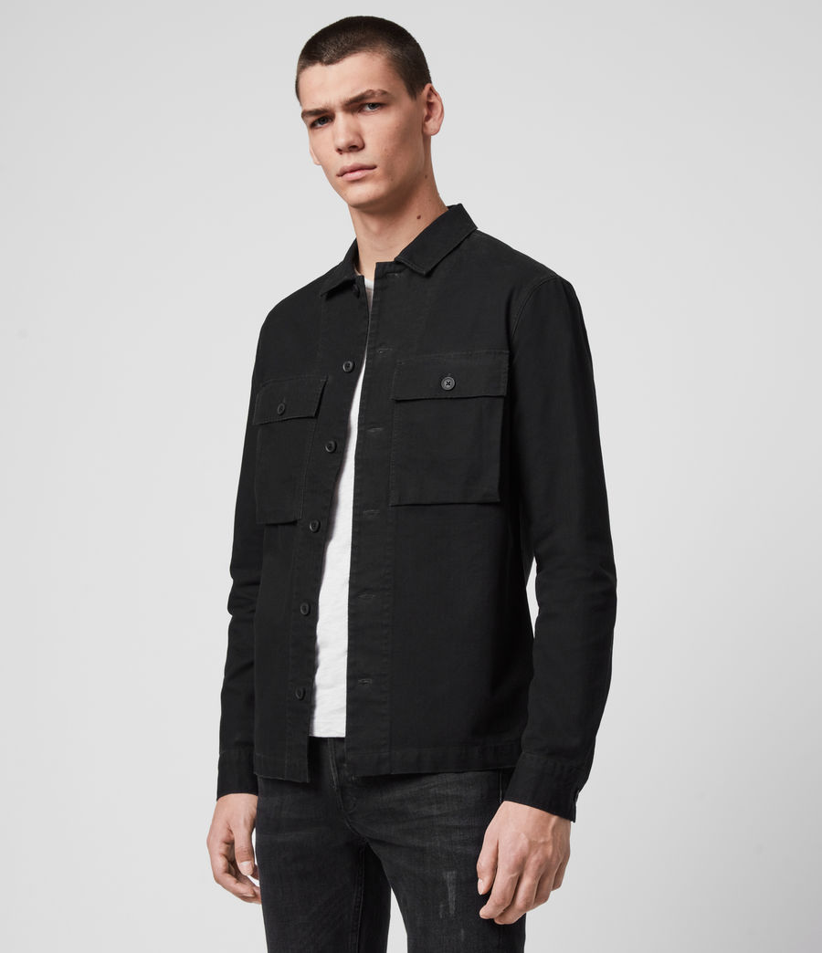 Herren Recon Shirt (jet_black) - Image 4