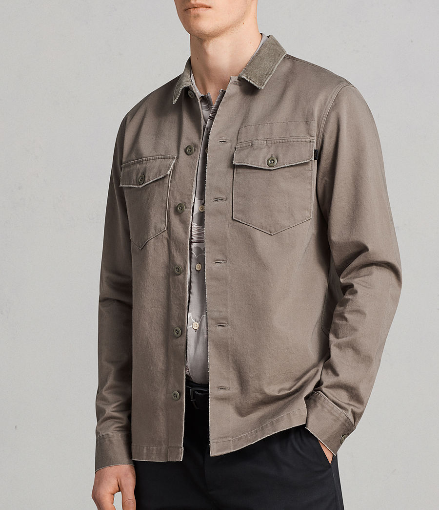 Mens Tactical Shirt (Olive Green) - Image 3
