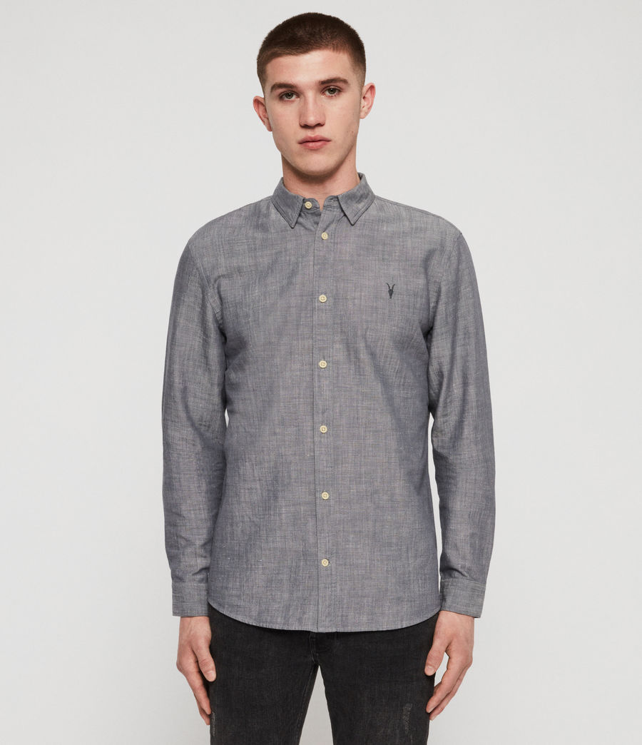 Men's Lyman Shirt (chambray_blue) - Image 1