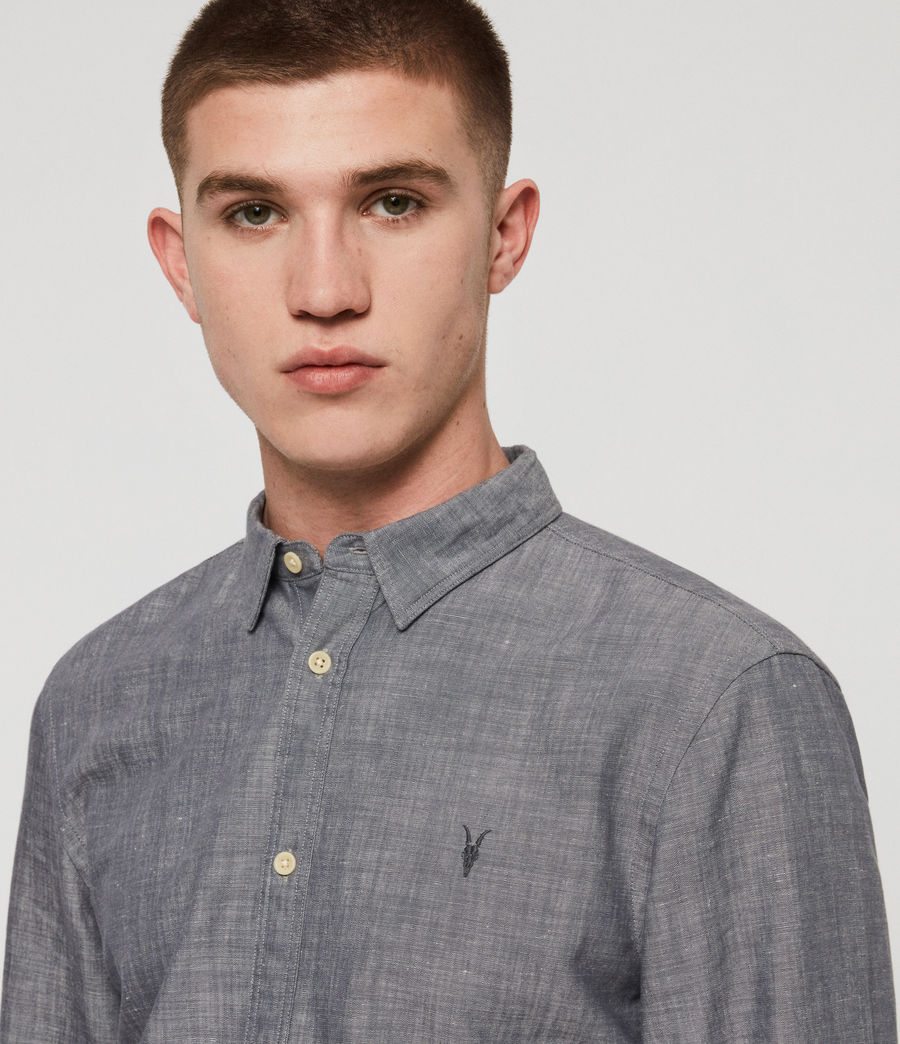 Men's Lyman Shirt (chambray_blue) - Image 2