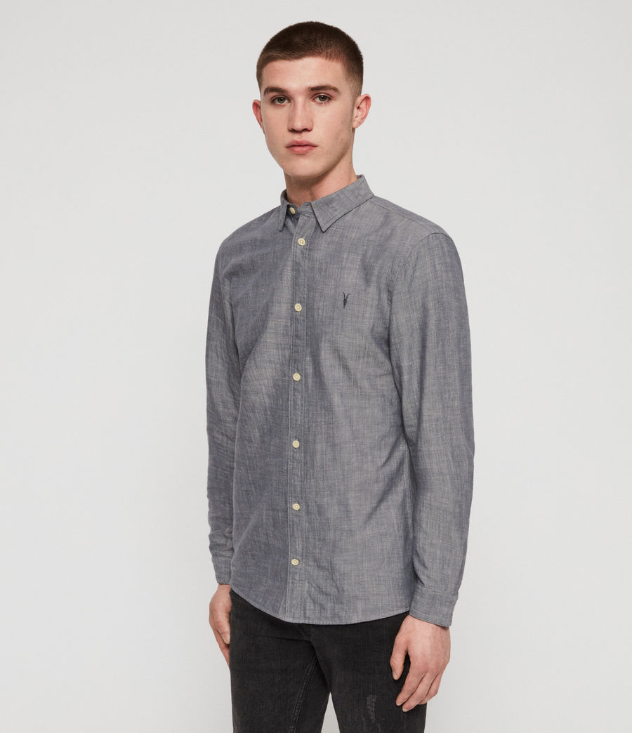 Men's Lyman Shirt (chambray_blue) - Image 4
