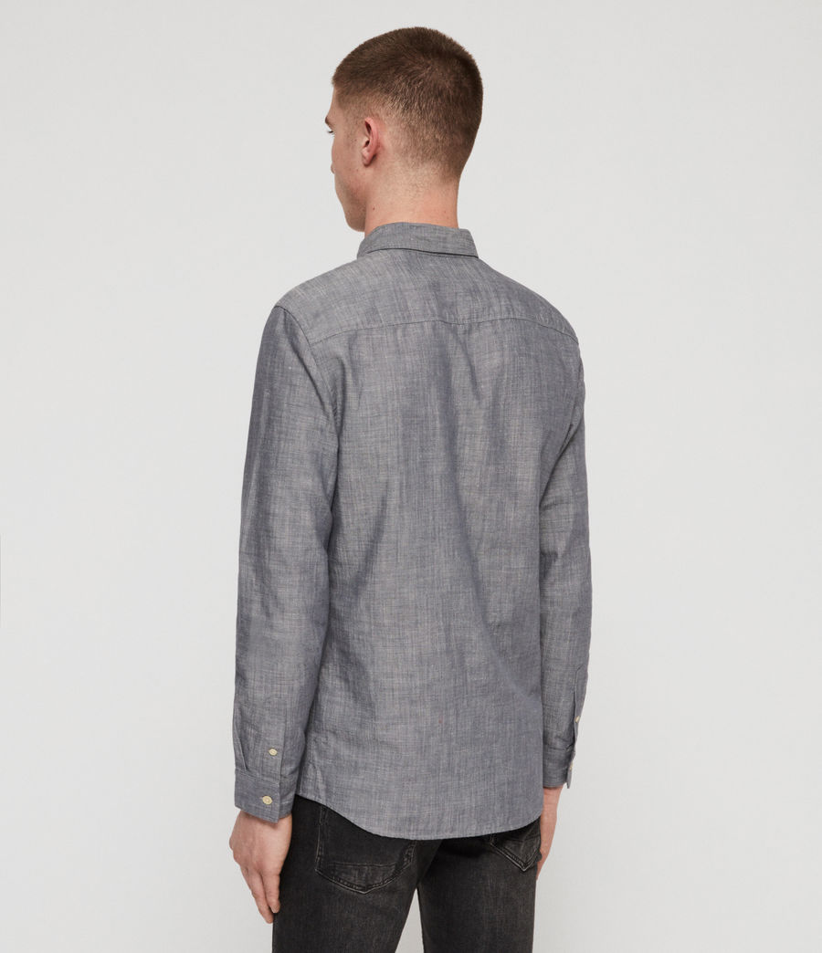 Mens Lyman Shirt (chambray_blue) - Image 5