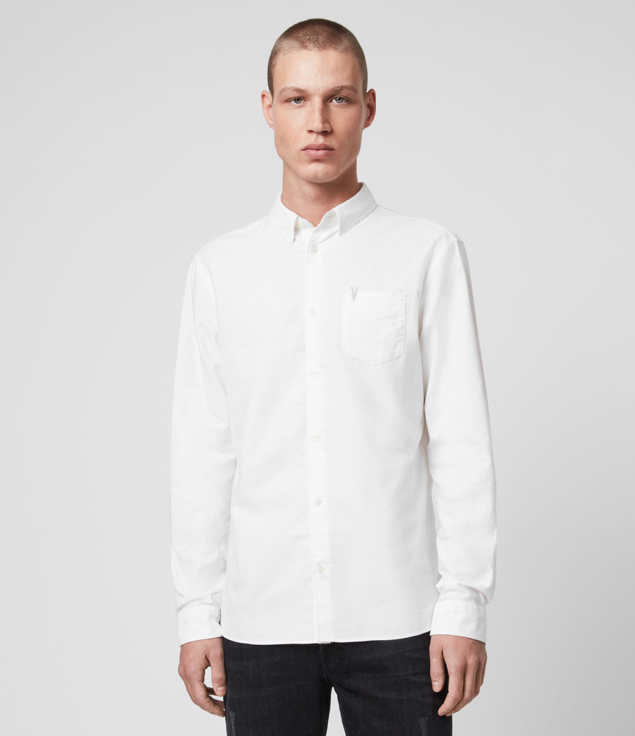 Men's Newport Shirt (optic_white) - Image 1