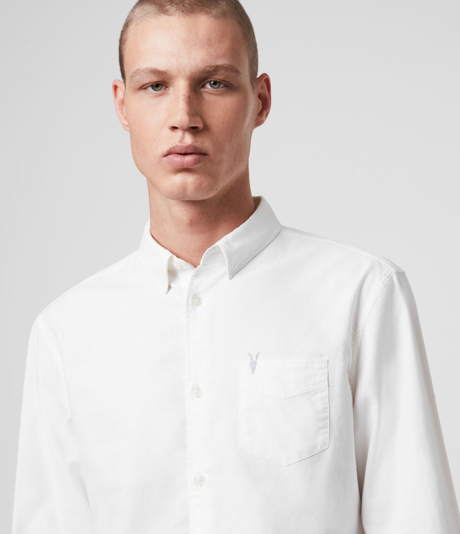 Men's Newport Shirt (optic_white) - Image 2
