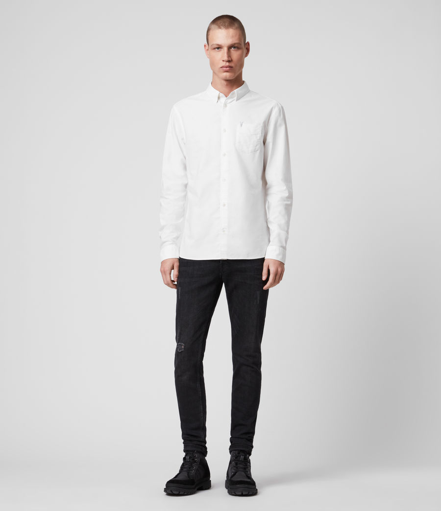 Men's Newport Shirt (optic_white) - Image 3