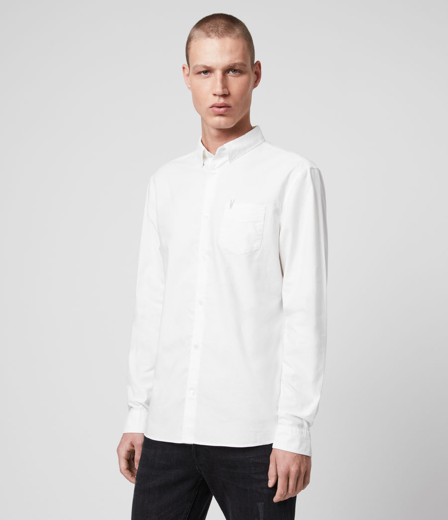 Men's Newport Shirt (optic_white) - Image 4