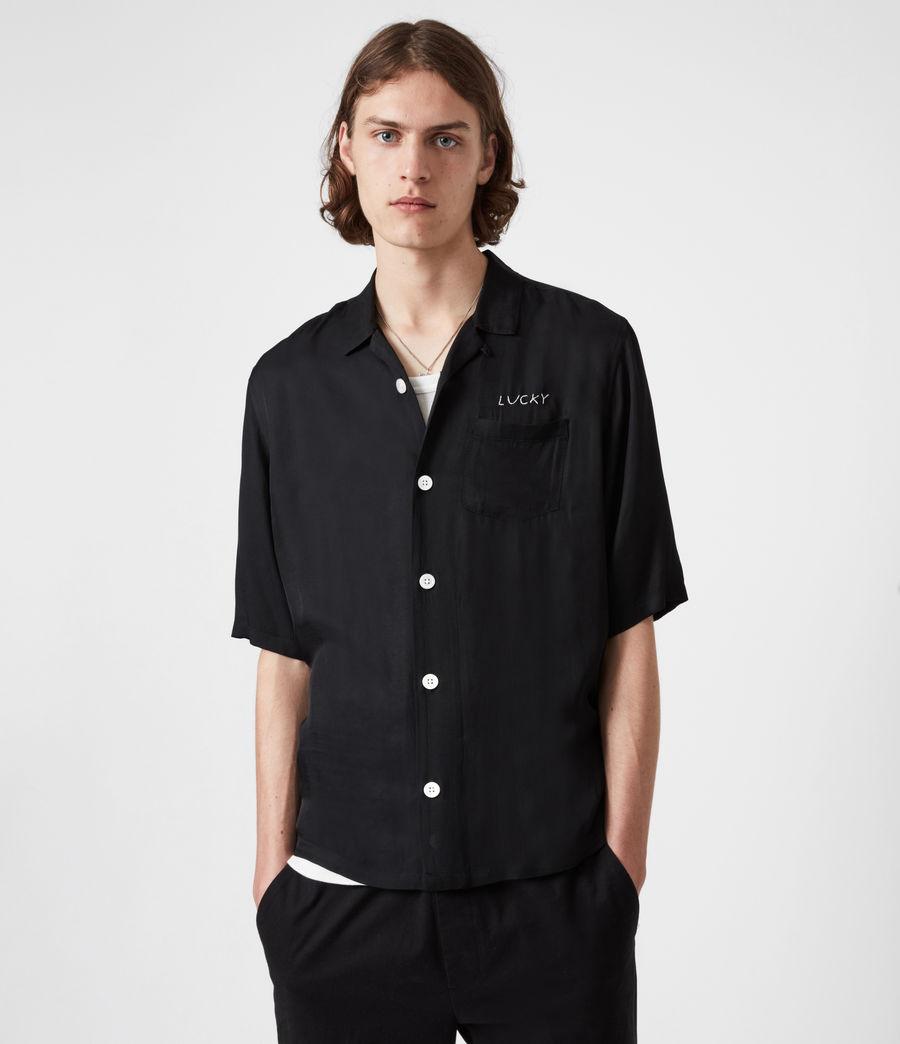 Men's Lucky Shirt (black) - Image 1