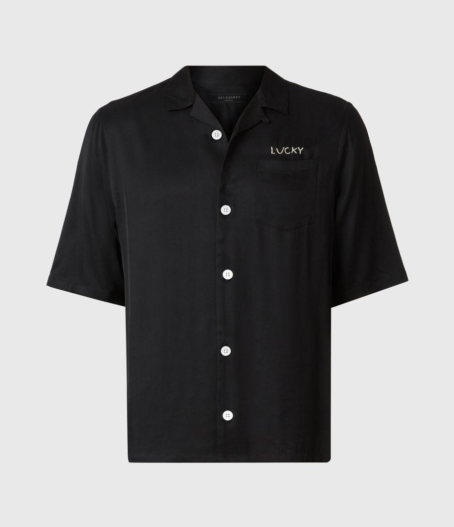 Men's Lucky Shirt (black) - Image 2
