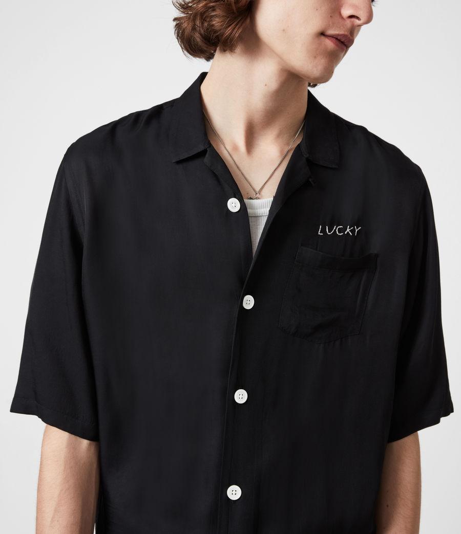 Men's Lucky Shirt (black) - Image 4