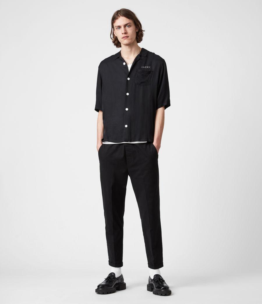 Men's Lucky Shirt (black) - Image 6