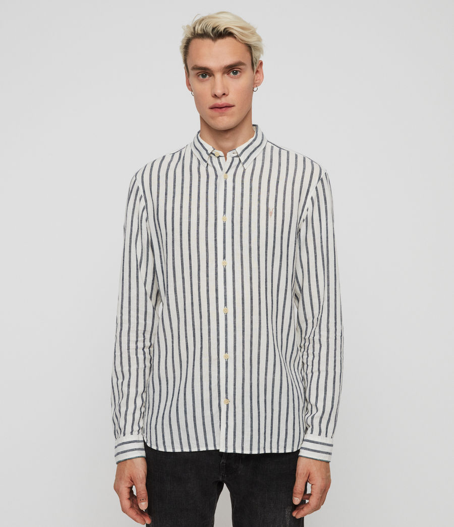 Men's Dedham Shirt (white__ink_navy) - Image 1
