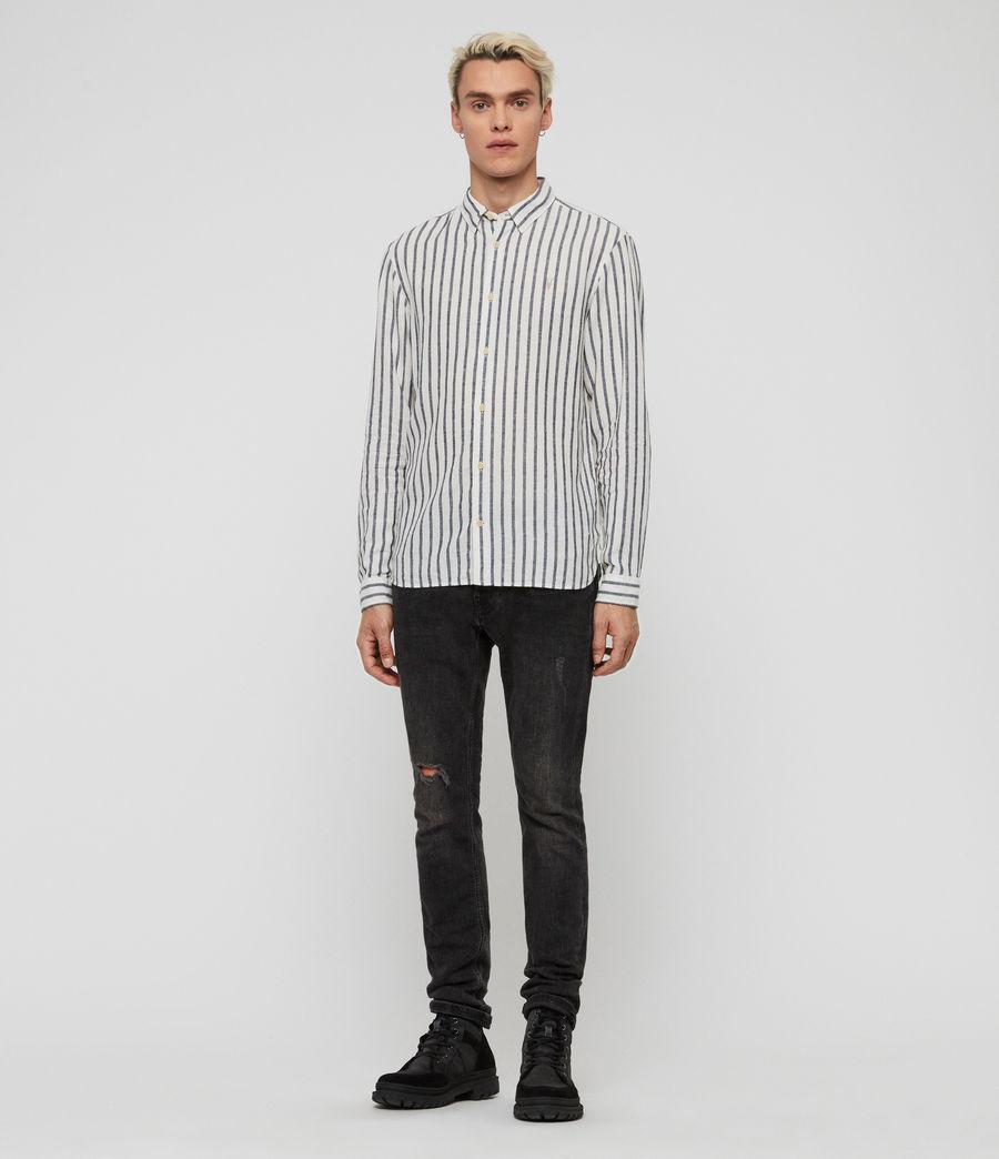 Men's Dedham Shirt (white__ink_navy) - Image 2