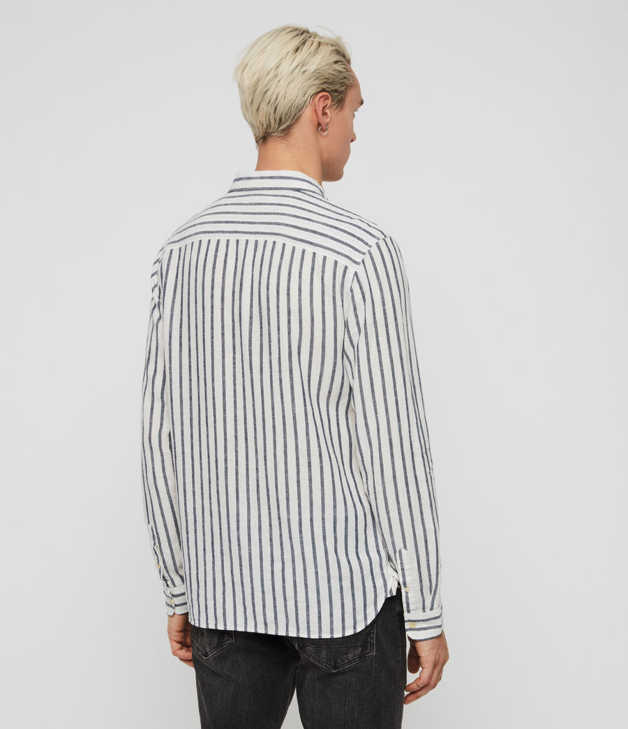 Men's Dedham Shirt (white__ink_navy) - Image 4