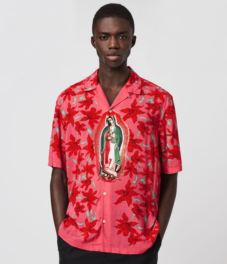 Uomo Guadalupe Shirt (pink) - Image 1