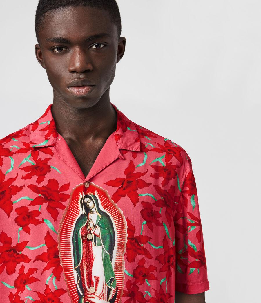 Mens Guadalupe Shirt (pink) - Image 2