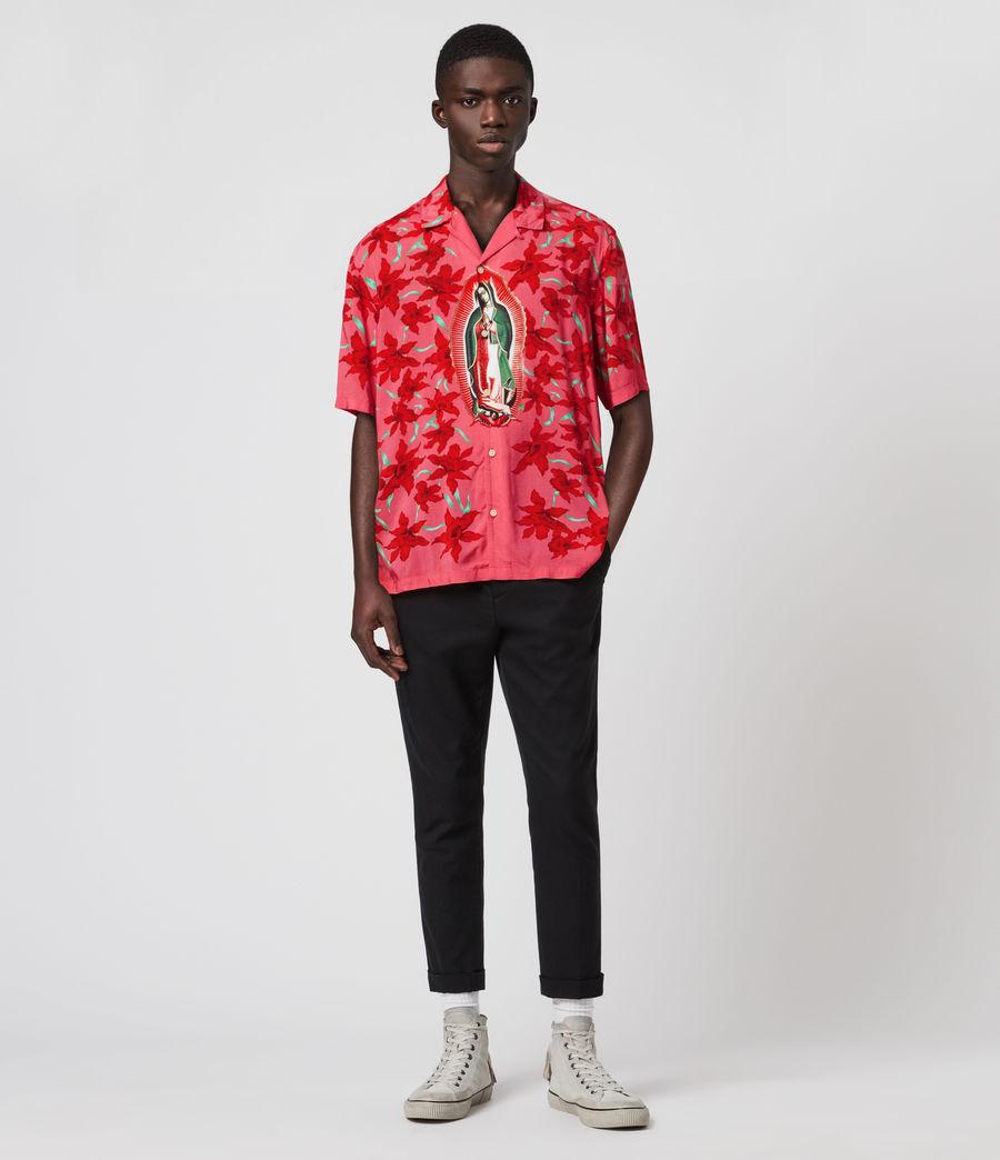 Mens Guadalupe Shirt (pink) - Image 3
