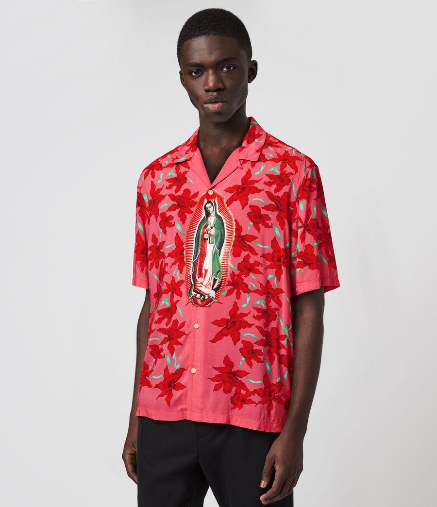 Mens Guadalupe Shirt (pink) - Image 4