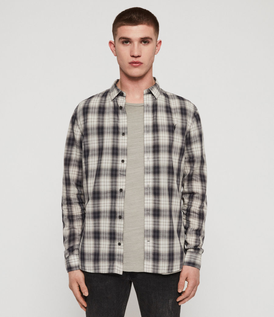 Men's Riverton Shirt (grey) - Image 1