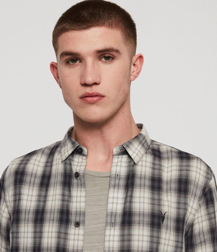 Mens Riverton Shirt (grey) - Image 2