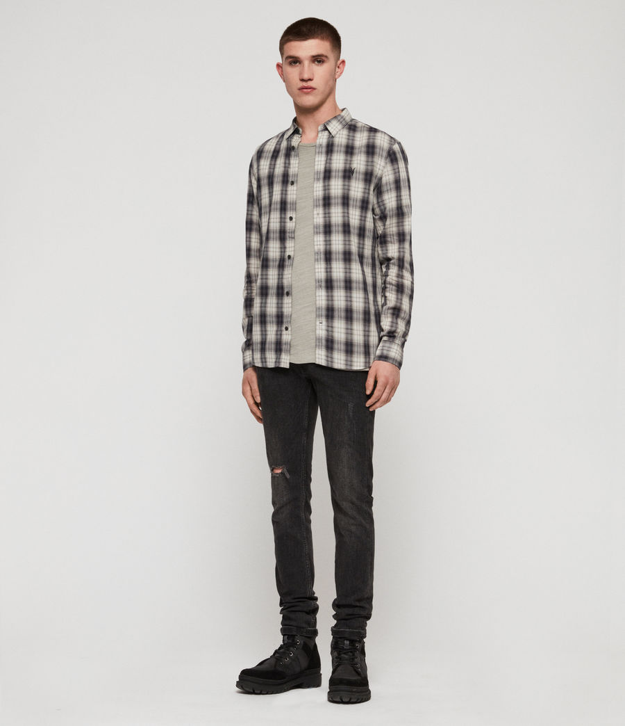 Men's Riverton Shirt (grey) - Image 3